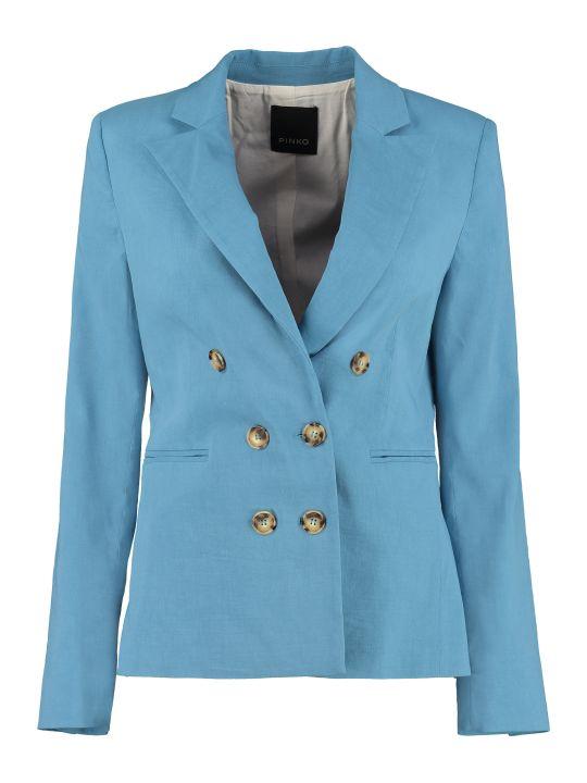 Pinko Sinbad Linen Blend Blazer