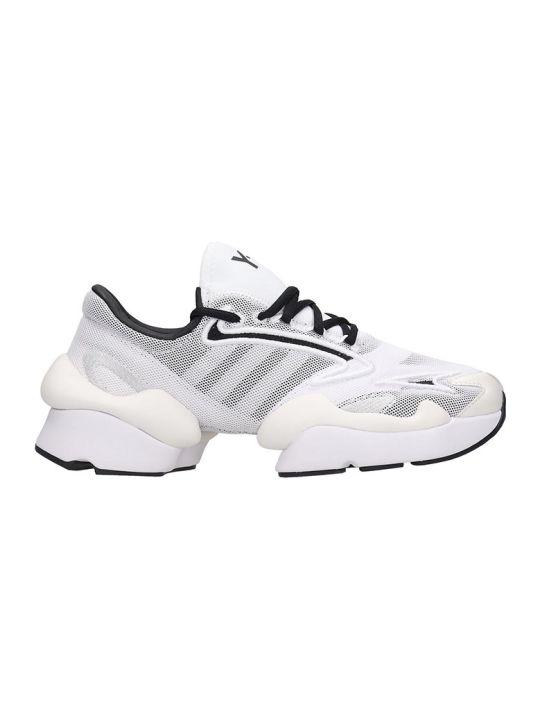 Y-3 Ren Sneakers In White Tech/synthetic