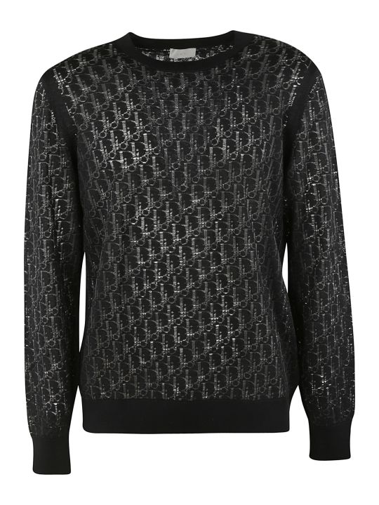 Christian Dior Embroidered Pullover