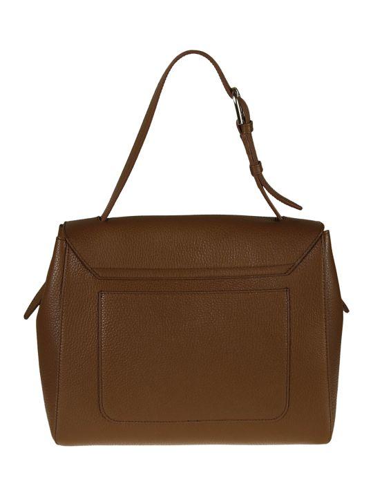 Furla Leather Flap Shoulder Bag