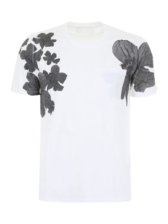 Neil Barrett Floral-printed T-shirt