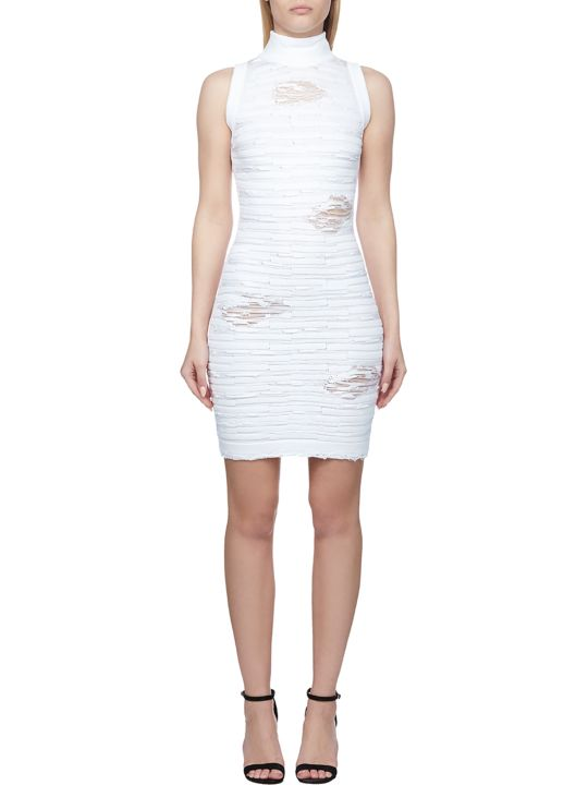 Balmain Distressed Bodycon Dress