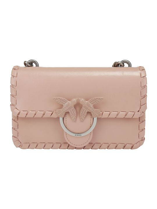 Pinko Mini Love Twist Shoulder Bag
