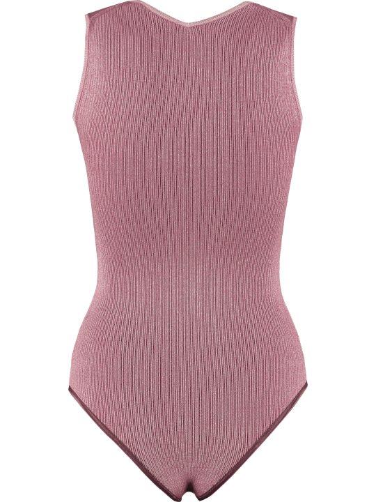 Forte_Forte Ribbed Knit Bodysuit