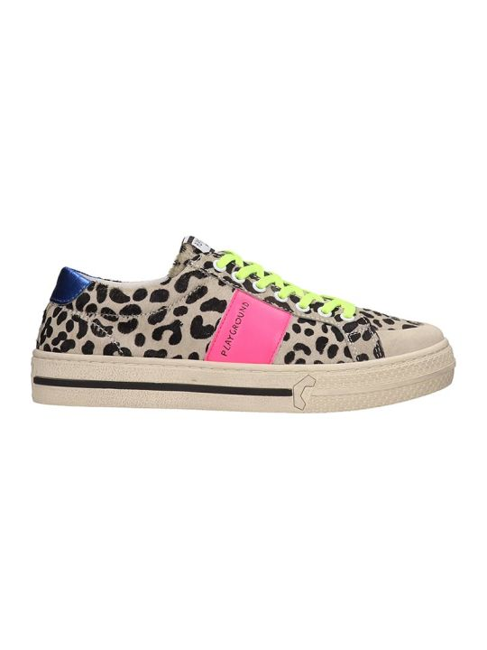 M.O.A. master of arts Sneakers In Animalier Pony Skin