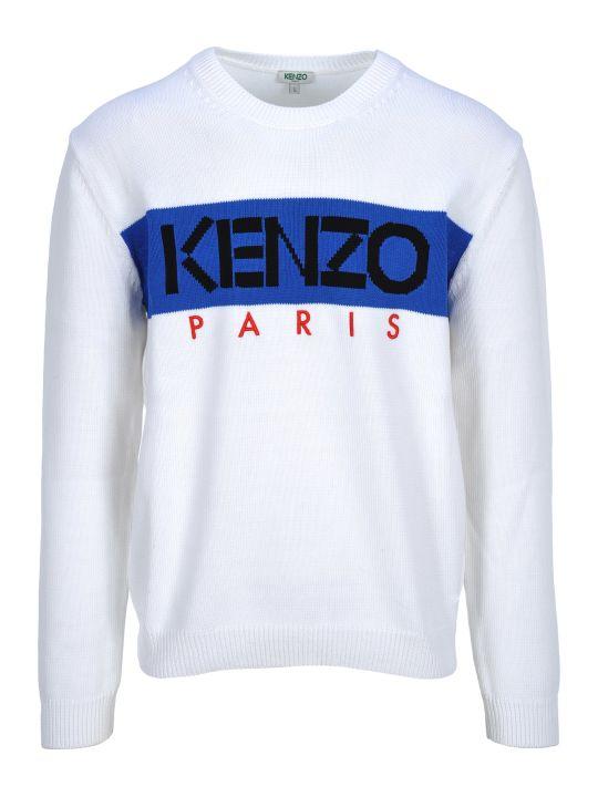 Kenzo Round Neck Logo Front