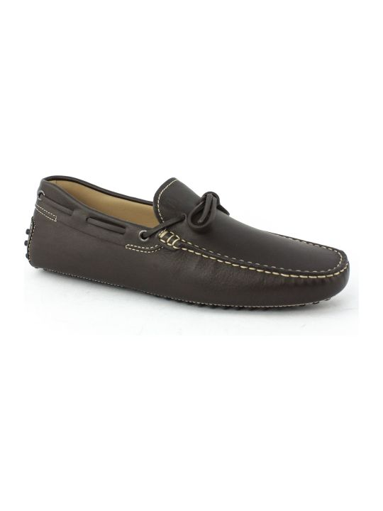 Tod's Gommino In Brown Leather