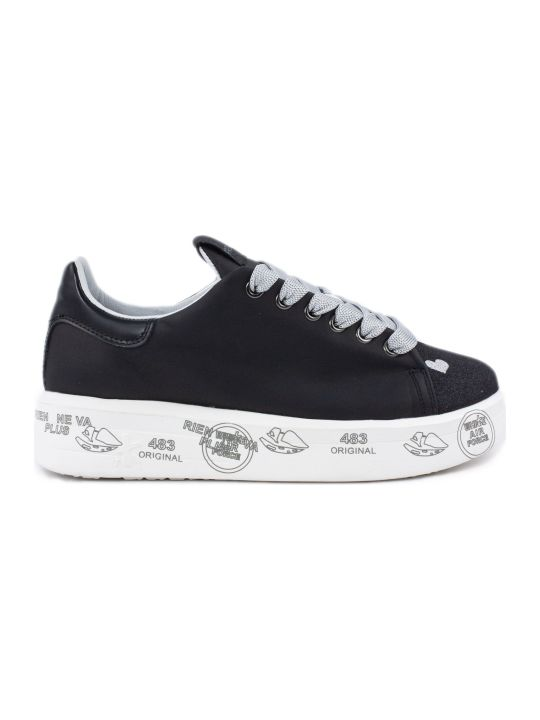 Premiata Belle Sneaker In Black
