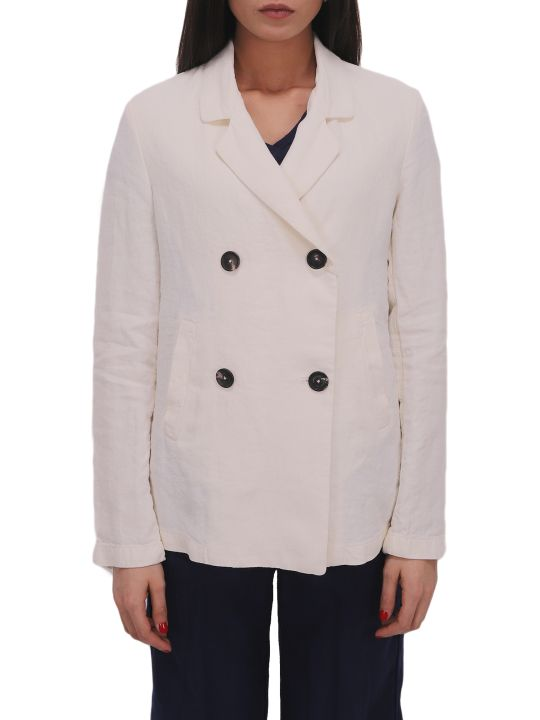 Massimo Alba White Hampton Jacket