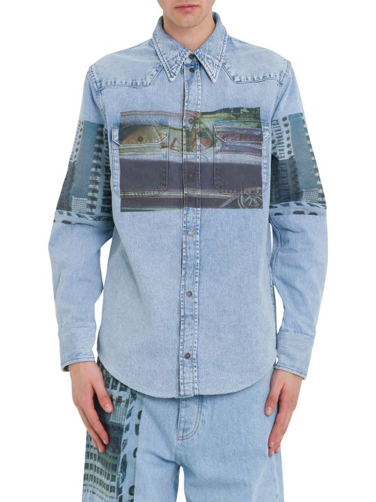 Calvin Klein Jeans Mondernist Printed Western Shirt