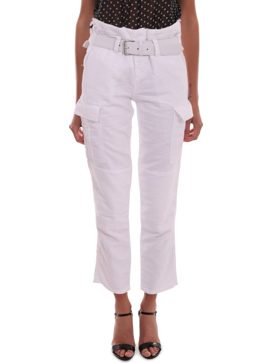 RTA White Cargo Trousers