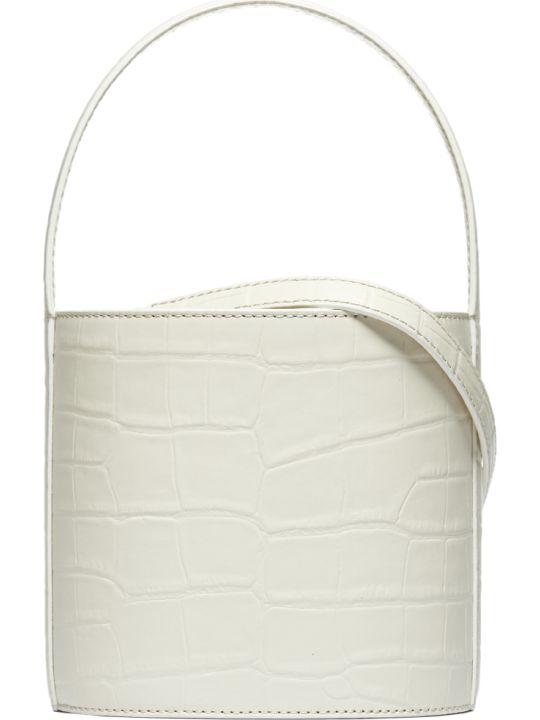 STAUD Embossed Bucket Bag