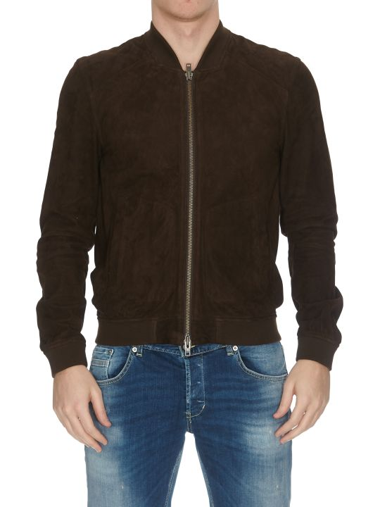 S.W.O.R.D 6.6.44 Suede Leather Bomber Jacket