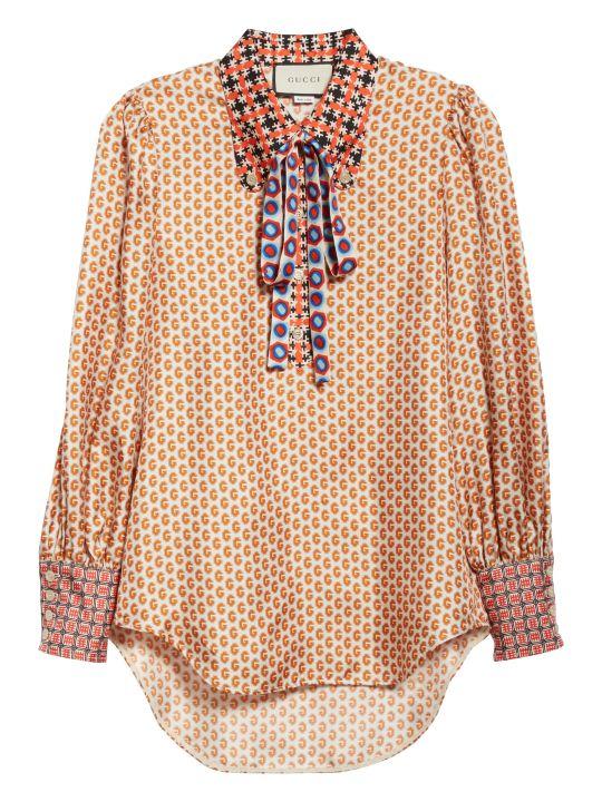 Gucci Fantasy Silk Shirt