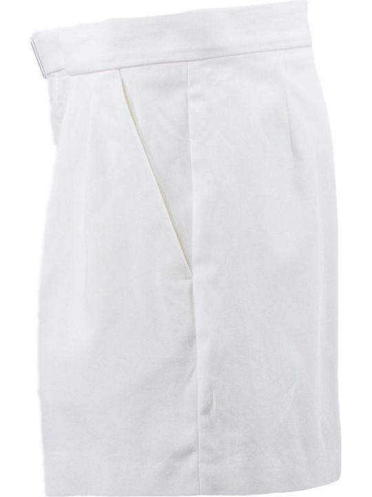 Maison Margiela White Cotton Shorts
