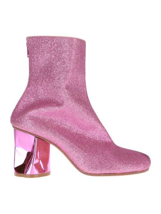 Maison Margiela Martin Margiela Glitter Ankle Boots