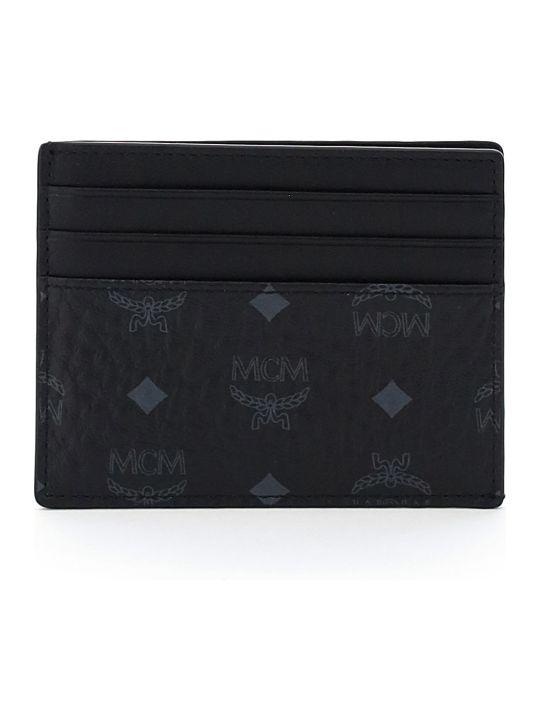 MCM Visetos Card Holder