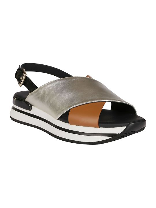Hogan Multi-coloured Leather H222 Sandals