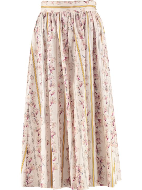 Forte_Forte Printed Cotton Skirt