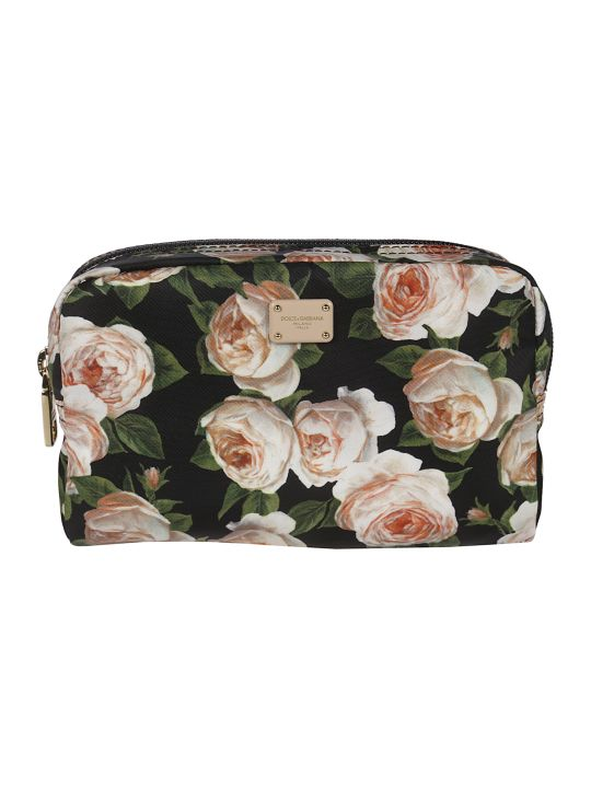 Dolce & Gabbana Floral Print Make-up Bag