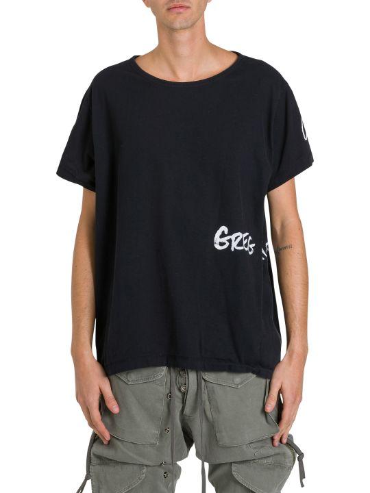 Greg Lauren Oversized T-shirt With Logo