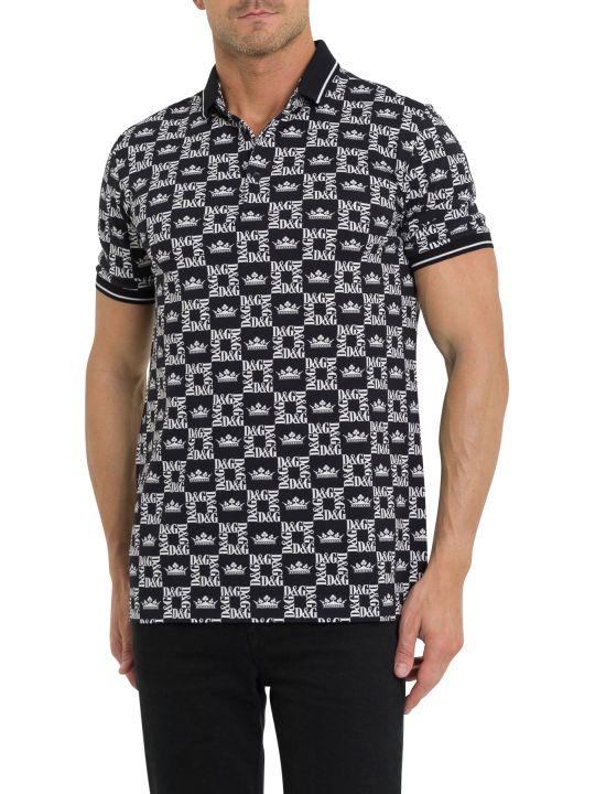 Dolce & Gabbana D&g Crown Polo Shirt
