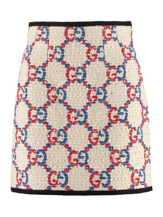 Gucci Tweed Mini-skirt