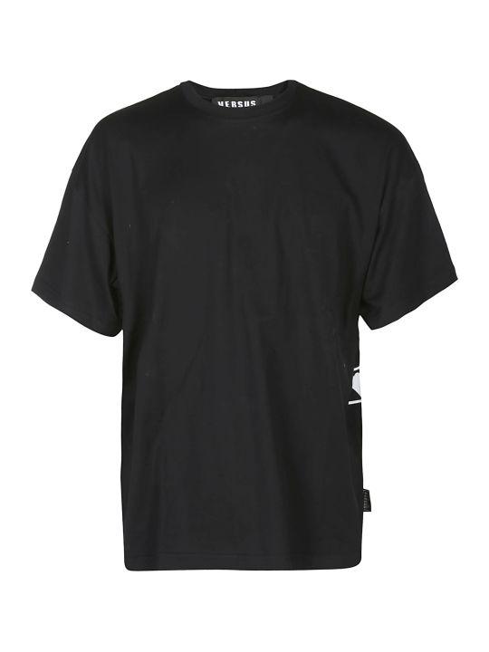 Versus Versace Logo Embossed T-shirt