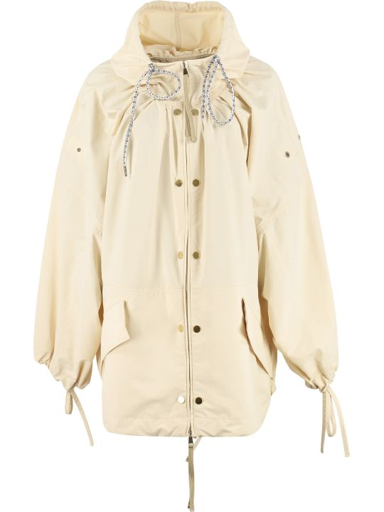 Moncler Genius Amaranth Nylon Windbreaker-jacket