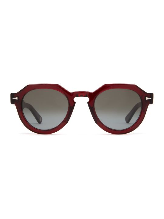 AHLEM Ahlem Grenelle Burgundy Sunglasses