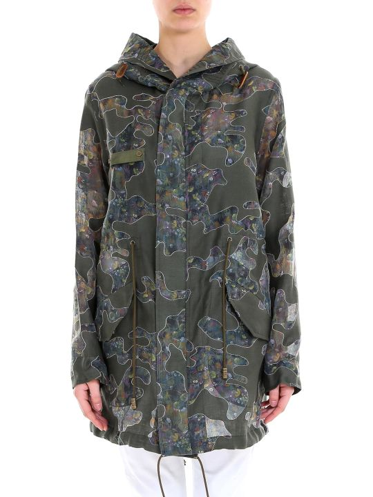 Mr & Mrs Italy Woman Reversible Parka Jacket