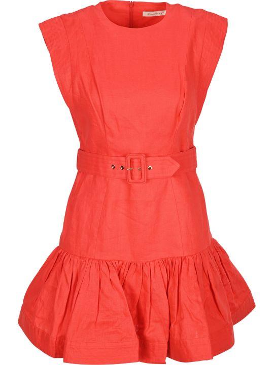 Zimmermann Belted Mini Dress