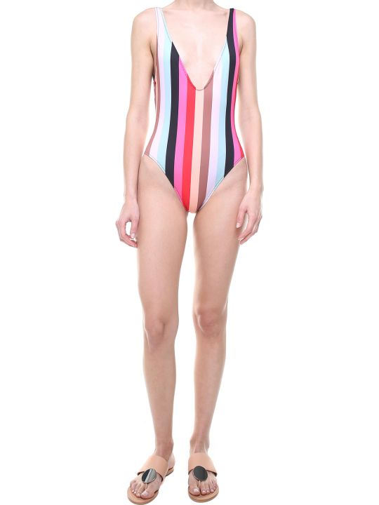 Solid & Striped The Michelle Striped Swimsuit