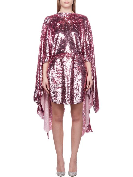 Paula Knorr Embellished Asymmetric Dress