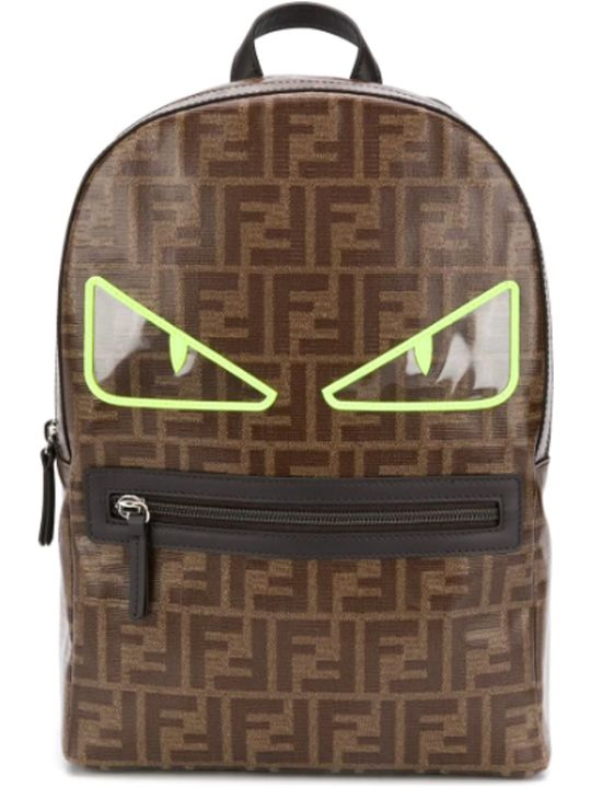 Fendi Brown Backpack