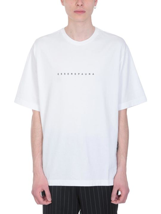 Danilo Paura White Cotton T-shirt
