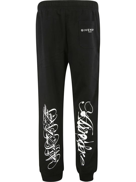 Givenchy Leg Graffiti Detail Track Pants