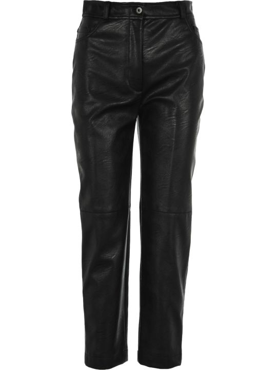 Stella McCartney Faux Leather Carrot Pant