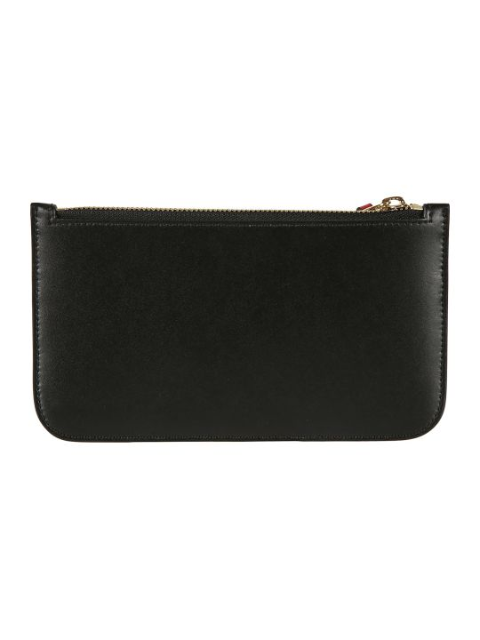 Alexander McQueen Multi Card Case Zip Clutch