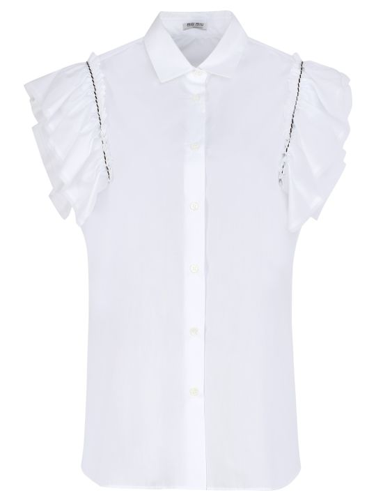 Miu Miu Cotton Poplin Shirt