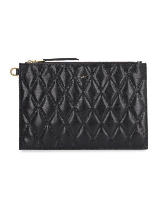 Givenchy Gv3 Leather Flat Pochette
