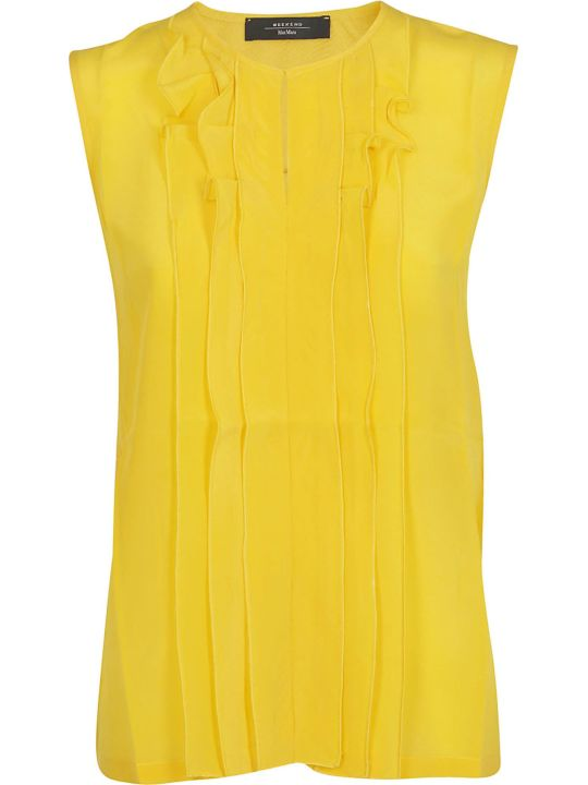 Weekend Max Mara Ruffled Top