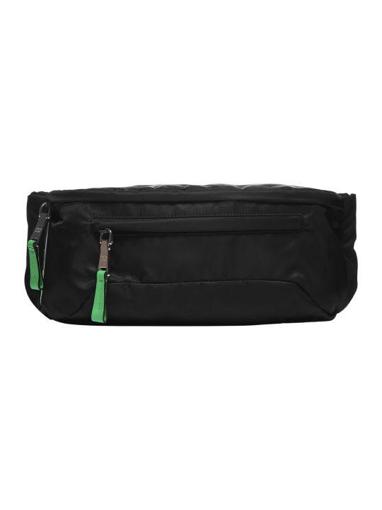 1a0832850e53a4 Prada Prada Classic Belt Bag - Nero verde fluo - 10822898   italist