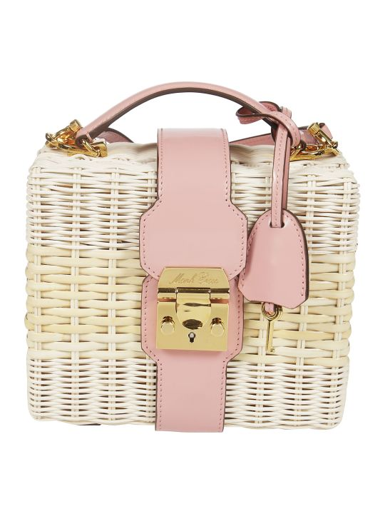 Mark Cross Rattan Tote