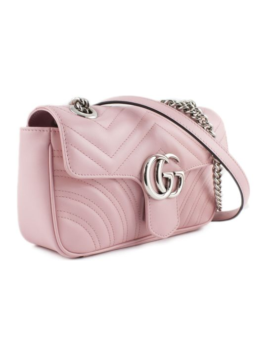 Gucci Gg Marmont Pastel Pink Mini Bag