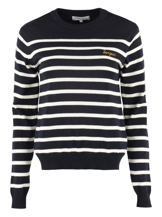 Maison Labiche Striped Wool Pullover