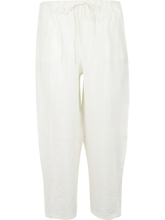 A Punto B Cropped Length Drawstring Trousers