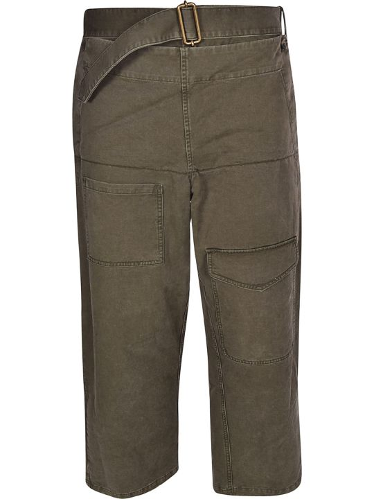 J.W. Anderson Jw Anderson Straight Leg Belted Trousers