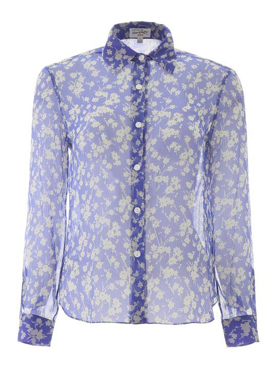 HVN Floral-printed Cristina Shirt