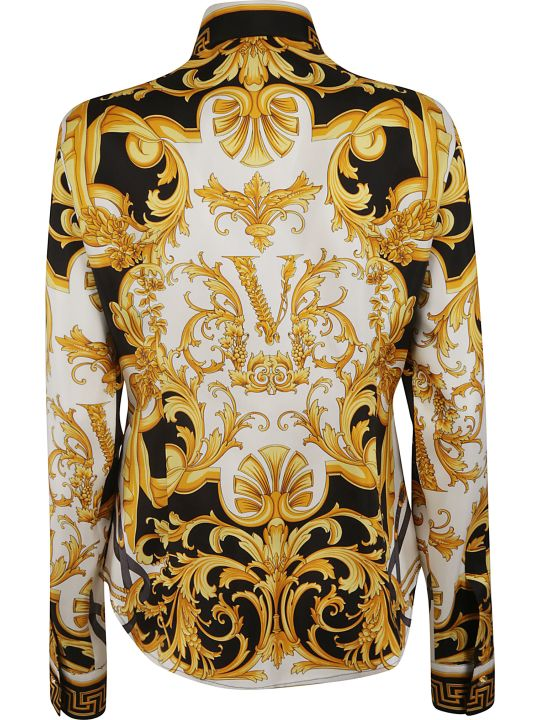 Versace Printed All-over Shirt